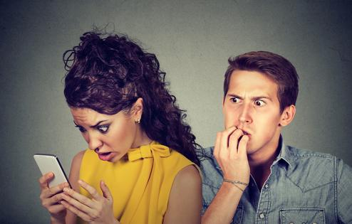 Cheating boyfriend claims he was hacked