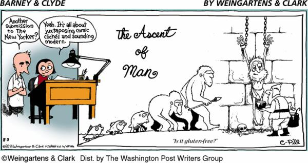 Barney & Clyde Cartoon for Aug/03/2014