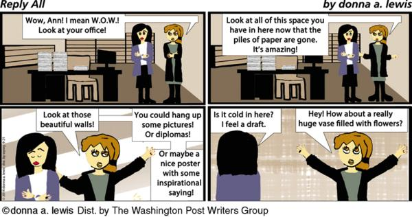 Reply All Cartoon for Sep/21/2014