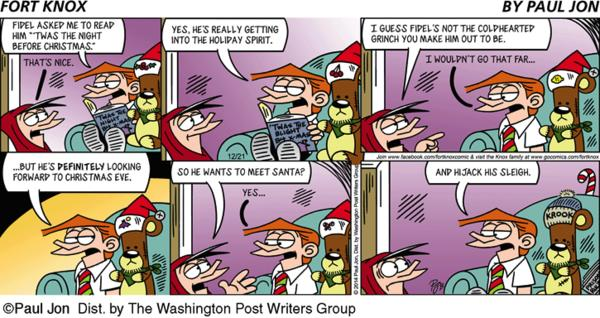 Fort Knox Cartoon for Dec/21/2014