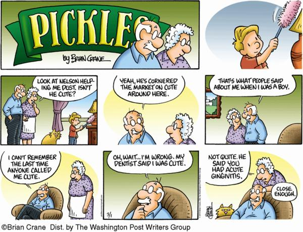 Pickles Cartoon for Mar/01/2015
