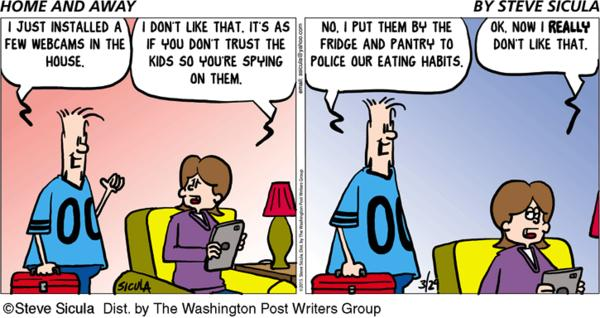 Home & Away Cartoon for Mar/29/2015
