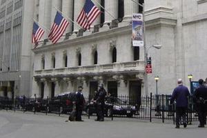 Exterior of the New York Stock Exchange