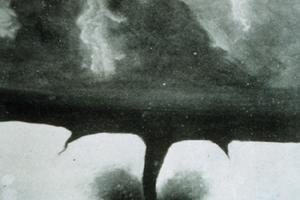 Oldest-known tornado photograph