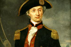 John Paul Jones, the first true naval hero.