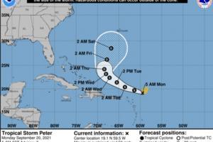 National Hurricane Center/TNS
