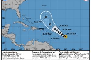 National Hurricane Center/TNS/TNS
